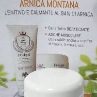 ARNICA MONTANA 94% MADE IN ITALY IMMEDIATO DEFATICANTE TUBETTO GEL 500 ML